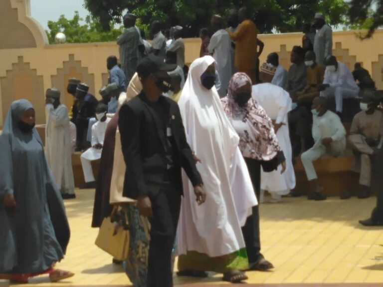 Funeral Of Late Chief Of Army Staff And Others At National Mosque In Abuja [Photos] 3