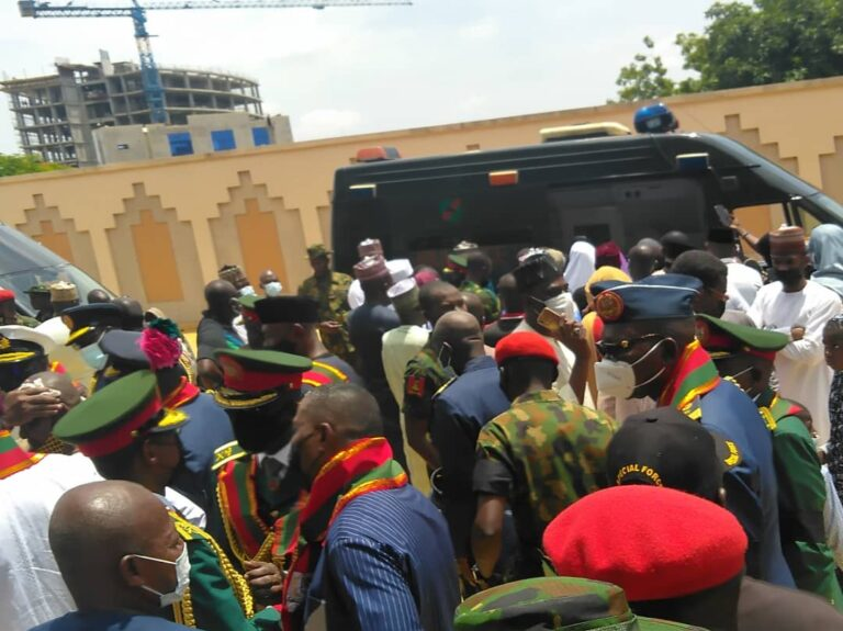 Funeral Of Late Chief Of Army Staff And Others At National Mosque In Abuja [Photos] 8