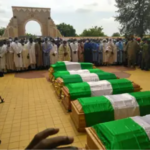 Funeral Of Late Chief Of Army Staff And Others At National Mosque In Abuja [Photos] 27