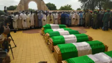 Funeral Of Late Chief Of Army Staff And Others At National Mosque In Abuja [Photos] 7