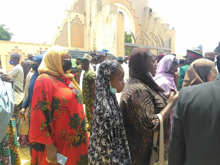 Funeral Of Late Chief Of Army Staff And Others At National Mosque In Abuja [Photos] 11