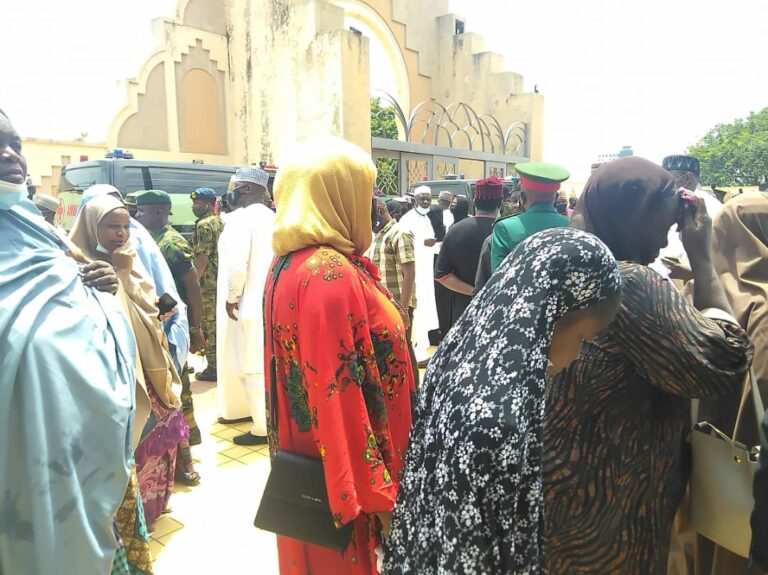 Funeral Of Late Chief Of Army Staff And Others At National Mosque In Abuja [Photos] 12