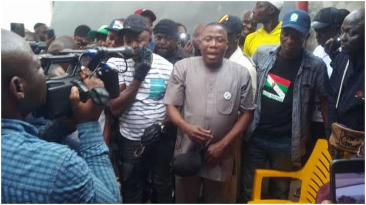Sunday Igboho Storms Ondo With Oodua Agitators, Says No Going Back On Yoruba Nation 1
