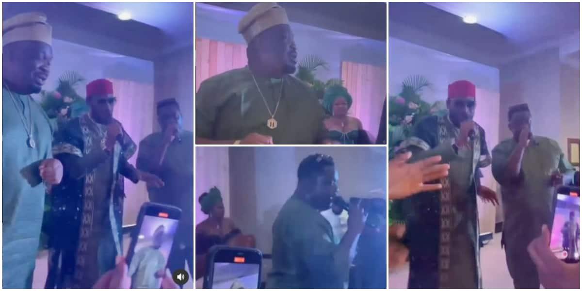 Mo'hits Reunites As Don Jazzy, Dbanj And Wande Coal Perform At Ikechukwu's Wedding [Video] 1