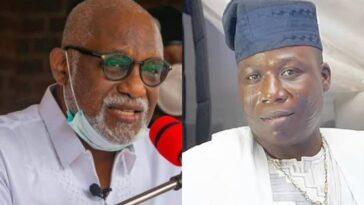 """I Don't Support Agitation For Yoruba Nation"" - Governor Akeredolu Warns Sunday Igboho 3"