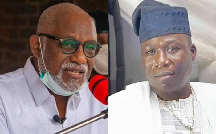"""I Don't Support Agitation For Yoruba Nation"" - Governor Akeredolu Warns Sunday Igboho 1"