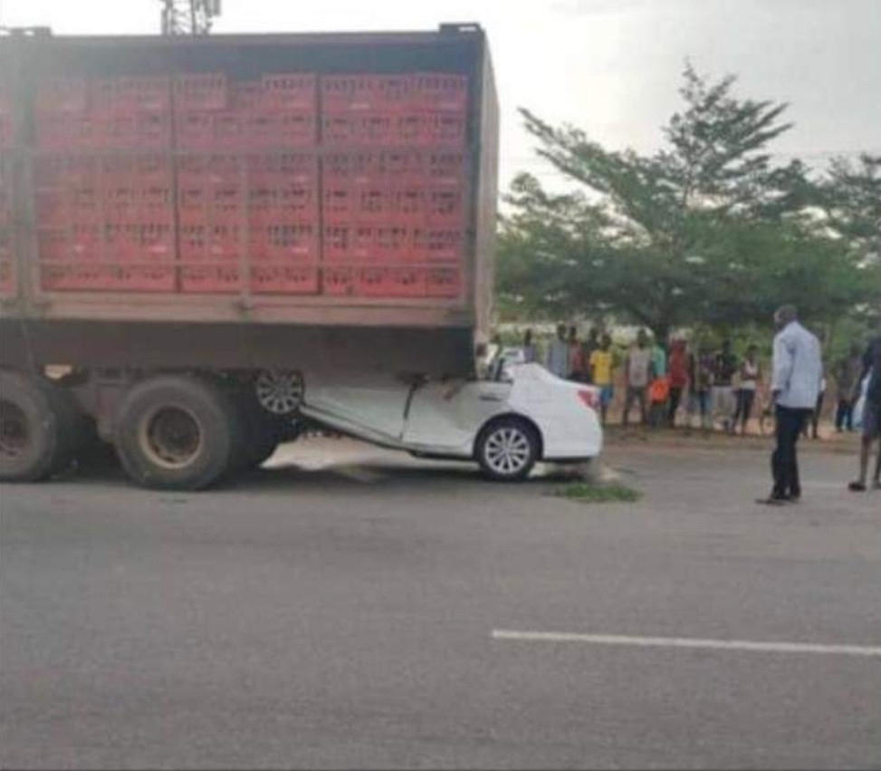 Buhari Mourns As Chuba Okadigbo's Son Dies In Accident After His Car Ran Under A Trailer 2