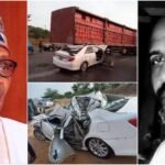 Buhari Mourns As Chuba Okadigbo's Son Dies In Accident After His Car Ran Under A Trailer 28