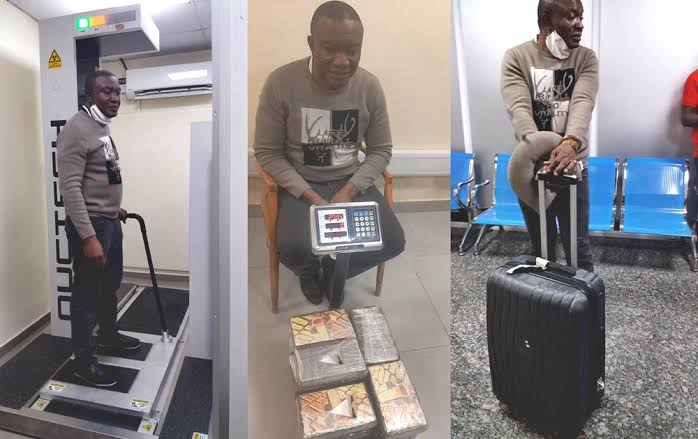 NDLEA Arrests Brazil-Based Drug Kingpin With N8 Billion Worth Of Cocaine At Lagos Airport 1