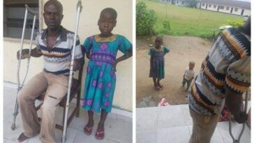 8-Year-Old Girl Rescued From Being Killed After Pastor Accused Her Making Her Father Blind 5