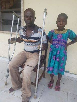 8-Year-Old Girl Rescued From Being Killed After Pastor Accused Her Making Her Father Blind 1