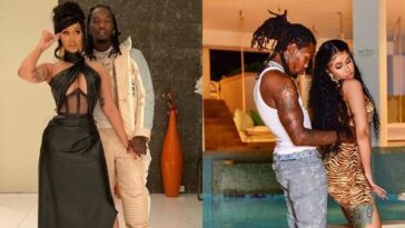 Cardi B Gets Romantic With Husband Offset While Dancing To Davido's Song 'Fall' [Video] 4