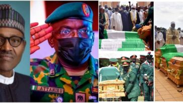 Buhari Didn't Attend Late COAS Attahiru's Burial Because Of Security Clearance - Presidency 15