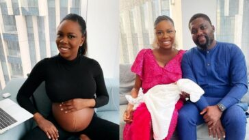 """""""My God Is Faithful"""" - Nigerian Woman Welcomes First Child After 9 IVFs And 3 Miscarriages 2"""