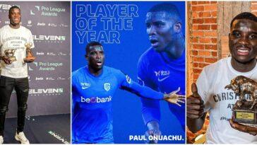 Nigerian Striker, Paul Onuachu Wins Best Player And Highest Goalscorer Awards In Belgium 12