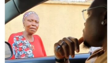 Woman Returns To Street Begging After Kogi Governor's Aide Rented A House For Her [Video] 1