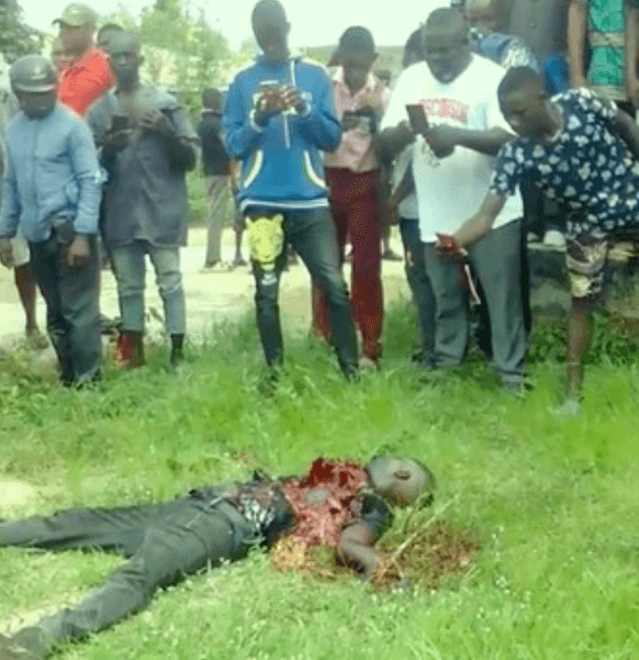 Confusion in Ebonyi as suicide bomber sent to bomb school detonate self - PHOTOS 2