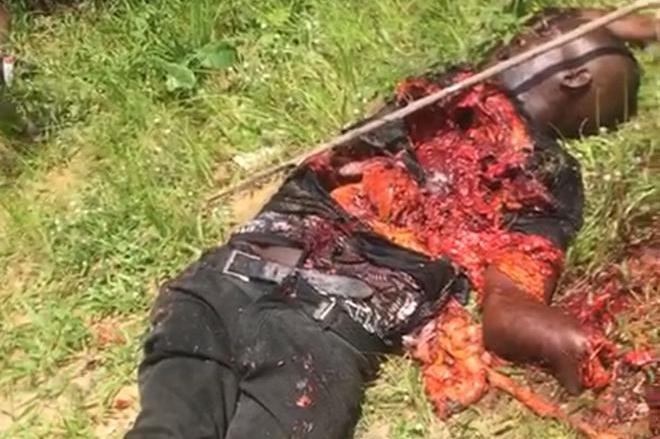 Confusion in Ebonyi as suicide bomber sent to bomb school detonate self - PHOTOS 3