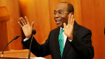 """""""We're Expecting 12 Fighter Jets To Help Us Tackle Insecurity"""" - CBN Governor, Emefiele 5"""