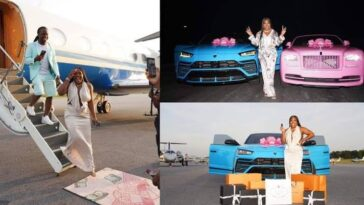 Man Gifts His Wife Rolls Royce, Lamborghini, Other Packages For Her Birthday [Photos/Video] 4