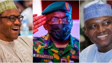 President Buhari Didn't Attend COAS Attahiru's Burial Because Of Traffic – Garba Shehu 14