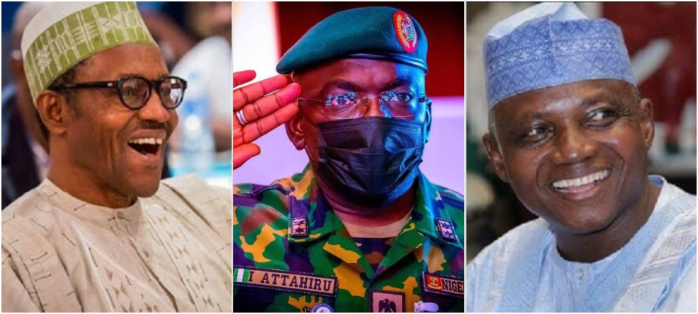 President Buhari Didn't Attend COAS Attahiru's Burial Because Of Traffic – Garba Shehu 1