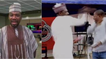 Ordinary President, Ahmad Isah Caught In Another Assault Video Slapping A Young Man 3