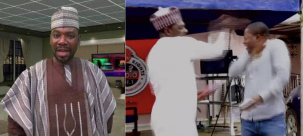 Ordinary President, Ahmad Isah Caught In Another Assault Video Slapping A Young Man 1