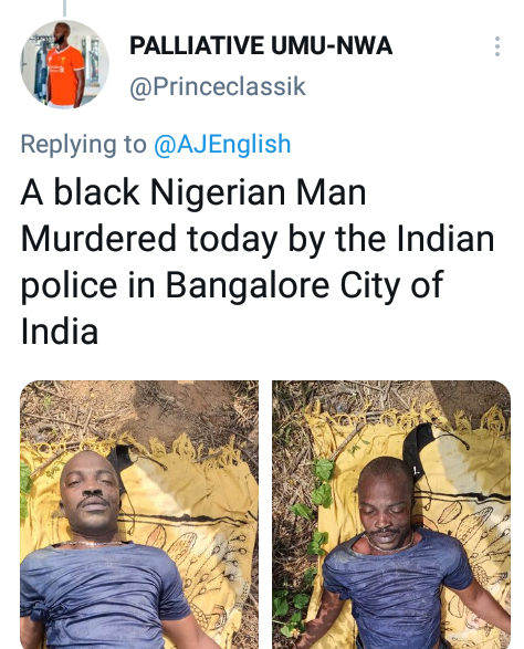 Nigerian Man, Peter Ofor Allegedly Killed By Police In India For 'Being A Nigerian' 5