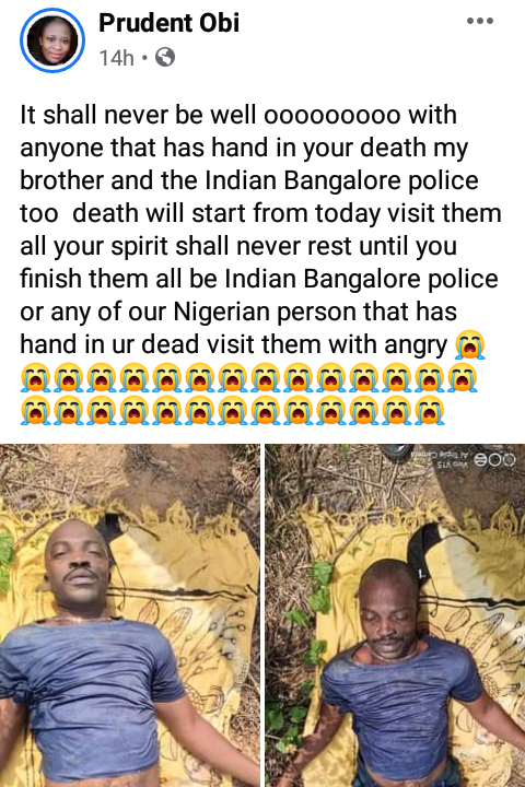Nigerian Man, Peter Ofor Allegedly Killed By Police In India For 'Being A Nigerian' 3