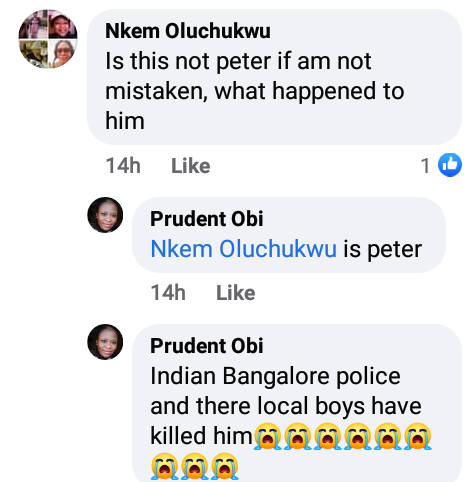 Nigerian Man, Peter Ofor Allegedly Killed By Police In India For 'Being A Nigerian' 6