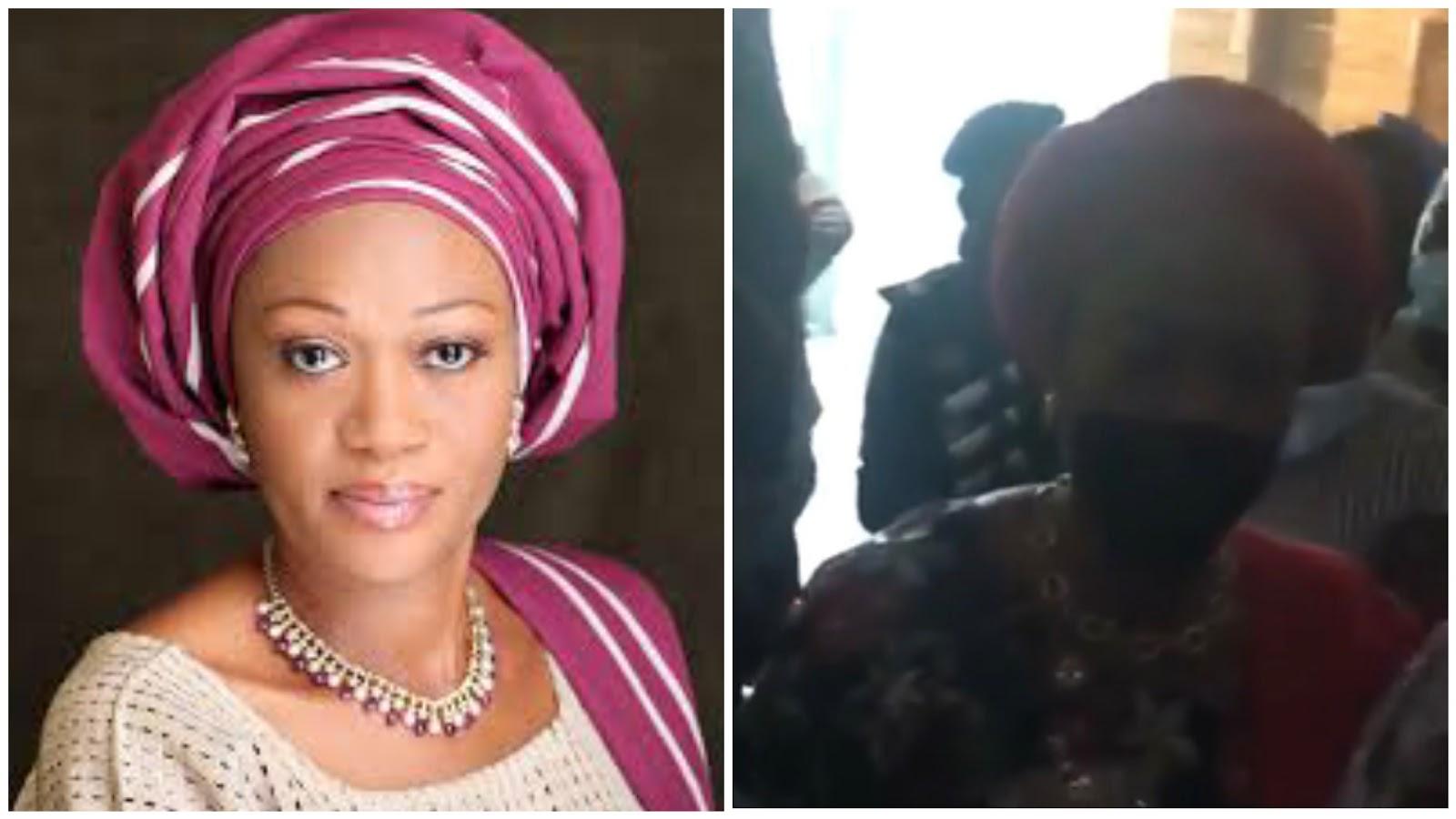 Nigerians Reacts As Senator Remi Tinubu Calls Her Fellow Woman A Thug [Video] 1
