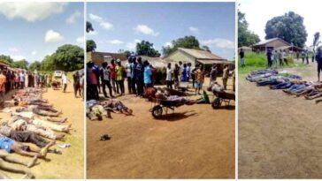 Outrage As Suspected Fulani Herdsmen Kills 36 People In Benue 5