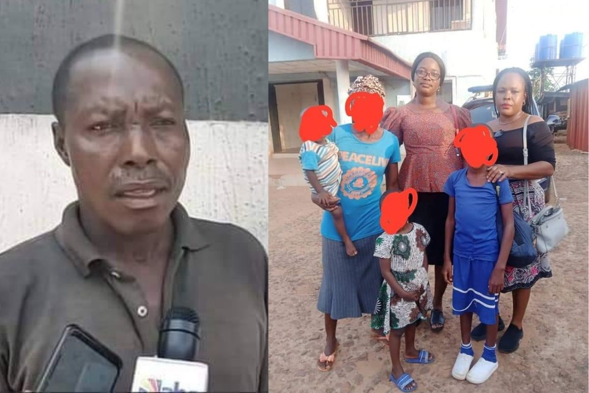 48-Year-Old Man Arrested For Allegedly Defiling His 3 Underaged Daughters In Anambra 1