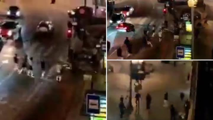 Chelsea And Man City Fans Clash With Porto Police Ahead Of Champions League Final [Video] 1