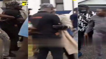 Sunday Igboho, Oduduwa Agitators Attacks DSS Officer During Yoruba Nation Rally [Video] 1