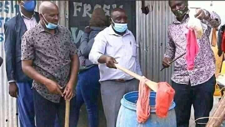Nigerian Lady Caught Using Her Old Panties To Prepair 'Kunu Drink' Which She Sales [Photos] 1
