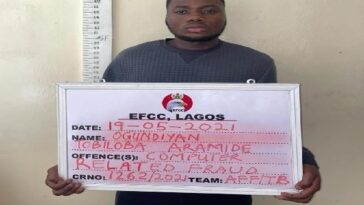 EFCC Arrests Yahoo Boy Who Tried To Buy N44m Range Rover SUV With Bitcoin In Lagos 2