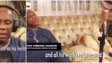 Minister Of Transport, Rotimi Amaechi Releases Gospel Song Featuring His Wife, Judith [Video] 5