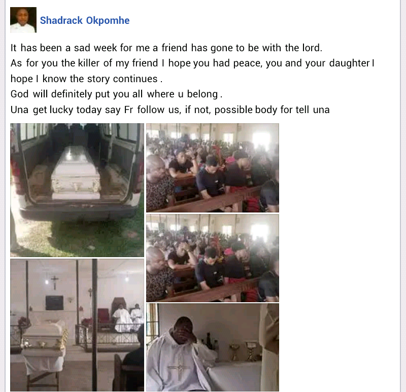 Nigerian Man Gets Killed By 'Spiritual Snake' Allegedly Sent By Unknown Person In Edo 4