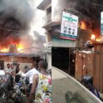 Fire Guts Ladipo Spare Parts Market In Lagos [Photos/Video] 28