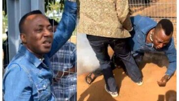 Ex-Presidential Candidate, Omoyele Sowore Shot By Police During Protest In Abuja [Video] 7