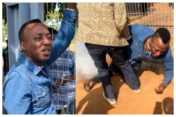 Ex-Presidential Candidate, Omoyele Sowore Shot By Police During Protest In Abuja [Video] 1