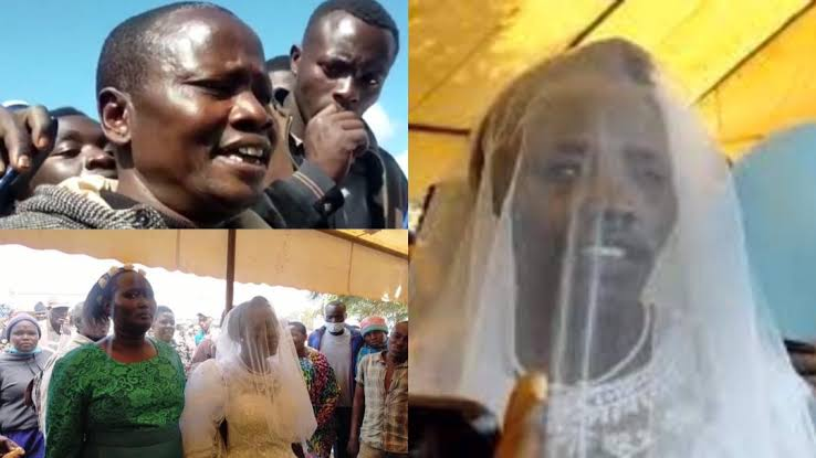 """Mother Of Six Marries """"Holy Spirit"""" After Dumping Her Husband Of 20 Years 1"""