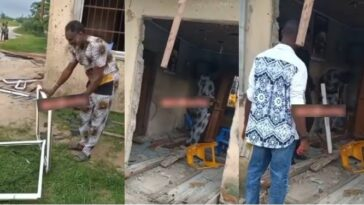 Children Destroy Their Late Father's Wife's Shop For Refusing To Remarry From The Family [Video] 13