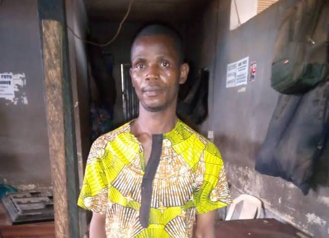 Man Arrested For Assaulting And Rαping A Woman Who Was Looking For A Shop In Ogun 1