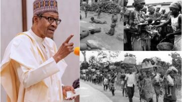 Buhari Threatens Another Genocide Against Igbo People Like During Nigerian Civil War 2