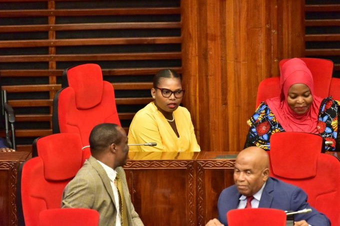 Tanzania Female Lawmaker Thrown Out From Parliament For Wearing Tight Trousers [Photos] 2