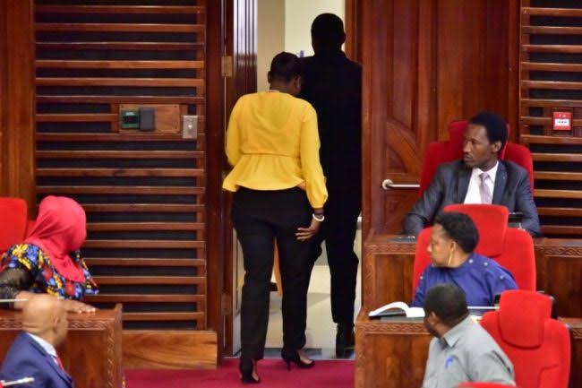 Tanzania Female Lawmaker Thrown Out From Parliament For Wearing Tight Trousers [Photos] 4