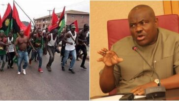 """""""Don't Deceive Yourself With 'Juju', We Will Blow Your head Off"""" - Wike Threatens IPOB [Video] 11"""